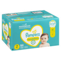 Pampers - Swaddlers Diapers - Size 2 Super Pack, 84 Each