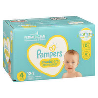 Pampers - Swaddlers Diapers - Size 4 Super Economy