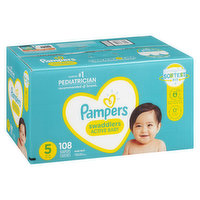 Pampers - Swaddlers Diapers - Size 5 Super Economy