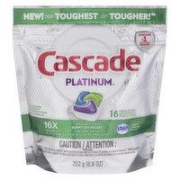Cascade Cascade - Platinum Dishwasher Tabs Fresh Scent, 16 Each