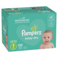 Pampers - Baby Dry Diapers - Size 1
