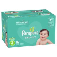 Pampers - Baby Dry Diapers Size 2