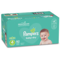 Pampers - Baby Dry Diapers - Size 4 Super Pack