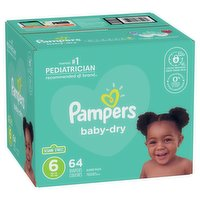 Pampers - Baby Dry Diapers Size 6