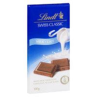 Lindt Lindt - Swiss Classic Milk Chocolate Bar, 100 Gram