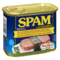 Spam - Luncheon Meat 25% Less Sodium, 340 Gram