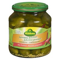 Kuehe - Gourmet Selection Gherkins Hot Pickled