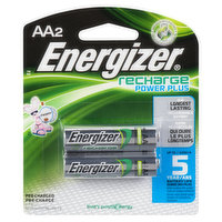 Energizer - Rechargeable Power Plus 1.2 V - AA