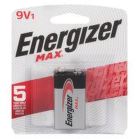 Energizer - Max 9V Powerseal Alkaline Battery, 1 Each