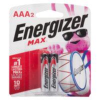 Energizer - Batteries - AAA2 Max Powerseal