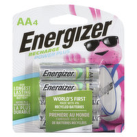 Energizer - Recharge Power Plus AA4 Batteries