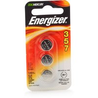 Energizer 357 battery used to power your medical devices, calculators and watches reliably. Cell Size: 357, Volt: 1.5.