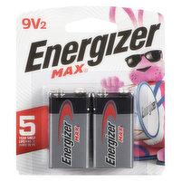 Energizer Energizer - Max Batteries - 9V 522BP2, 2 Each