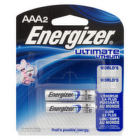 Energizer - Ultimate Lithium AAA Batteries