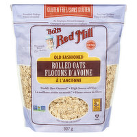 Makes a delicious, chewy, wholesome hot cereal that will give you lasting energy. Also a great choice for classic oatmeal raisin cookies, homemade granola, and oatmeal bread. Gluten free.
