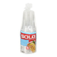 Solo - Clear Plastic Cups 18oz