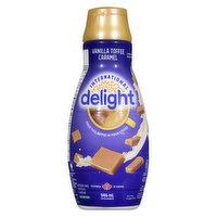International Delight - Coffee Whitener - Vanilla Toffee Caramel, 946 Millilitre
