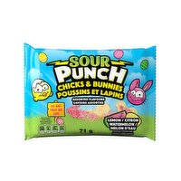 American Licorice Co - Sour Punch Chicks & Bunnies, 71 Gram