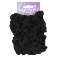 Goody Ouchless Scrunchies Black8 Ponytails