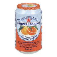 San Pellegrino - Aranciata Rossa Sparkling Blood Orange, 330 Millilitre