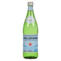 San Pellegrino San Pellegrino - Carbonated Natural Mineral Water, 750 Millilitre
