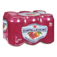 San Pellegrino - Melograno E Arancia Sparkling Pomegranate & Orange