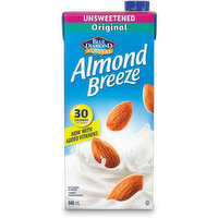 Blue Diamond - Almond Breeze - Unsweetened Original w/ Vitamins