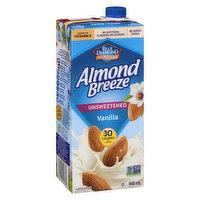 Blue Diamond - Almond Breeze - Unsweetened Vanilla w/ Vitamins, 946 Millilitre