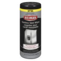 Weiman Weiman - Stainless Steel Wipes, 30 Each