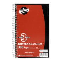 Hilroy Hilroy - 3 Subject Notebook, 1 Each