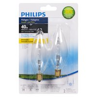 Philips Philips - Halogen Sparkling Light Dimmable Bulb - 40W, 2 Each