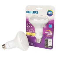 Philips Philips - 65W LED Dimmable Bulb - Soft White Light, 1 Each