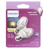 Philips - 7W LED Night Light Bulbs - Soft White