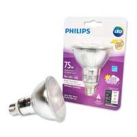 Philips Philips - 75W LED Dimmable Bulb - Bright White Light, 1 Each