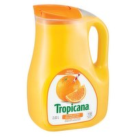 Tropicana - Pure Premium No Pulp Orange Juice, 2.63 Litre