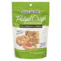 Snack Factory - Pretzel Crisps -Garlic Parmesan, 200 Gram