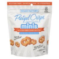 Snack Factory - Pretzel Mini Crisps-Original, 142 Gram