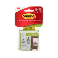 Command - Picture Hanging Strips, Assorted