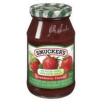 Smucker's - Jam - Strawberry No Sugar Added