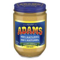 Adams - Creamy Unsalted Peanut Butter