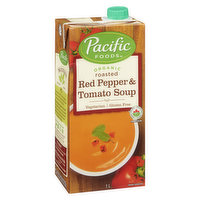 Pacific Foods - Organic Roasted Red Pepper & Tomato Soup