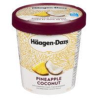Haagen-Dazs - Pineapple Coconut Ice Cream, 500 Millilitre