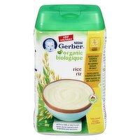 Gerber - Organic Brown Rice Cereal