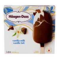 Haagen-Dazs Haagen-Dazs - Vanilla Milk Ice Cream Bars, 3 Each