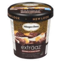 Haagen-Dazs - Brownies & Cookie Dough Ice Cream, 500 Millilitre