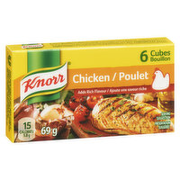 Knorr Cubes are Easy to Use, Quick to Dissolve and Add Rich Deep Flavour to Your Soups, Stews, Sauces, Gravies and Risottos.