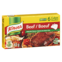 Knorr Knorr - Beef Bouillon Cubes, 6 Each