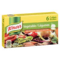 Knorr Knorr - Vegetable Bouillon Cubes, 6 Each