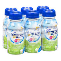Ready to Use. For toddlers 12-36 months. Helps support growth & development and complement your toddlers nutrition. Provides key nutrients such as iron, calcium, Vitamin E, and DHA. 6x235ml. Non-GMO.