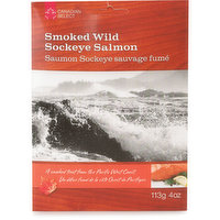 Canadian Select Canadian Select - Smoked Wild Sockeye Salmon, 113 Gram